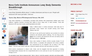 Lewy Body Dementia breakthrough